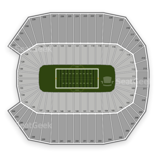 Connecticut Huskies Football Seating Chart