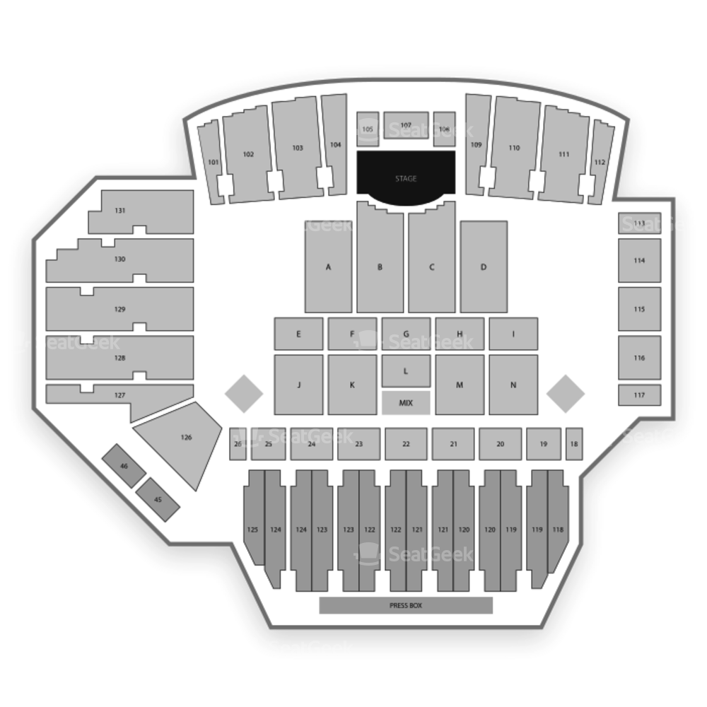 Tom Benson Hall of Fame Stadium Seating Chart Concert