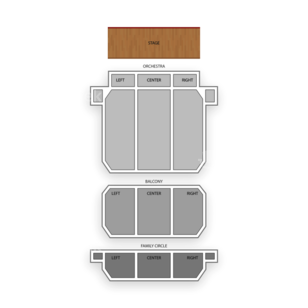 Merriam Theater Seating Chart Theater