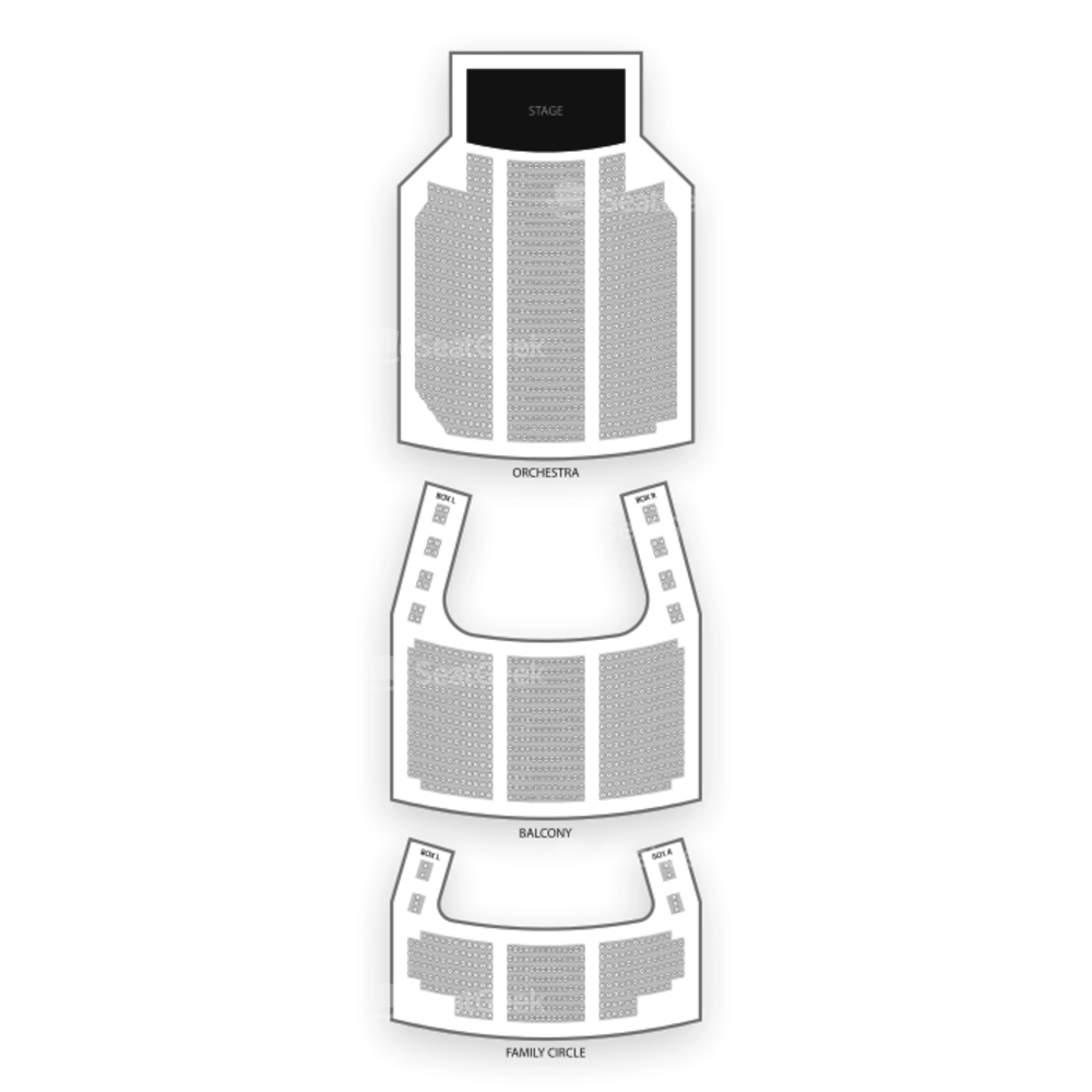 Merriam Theater Seating Chart Dance Performance Tour