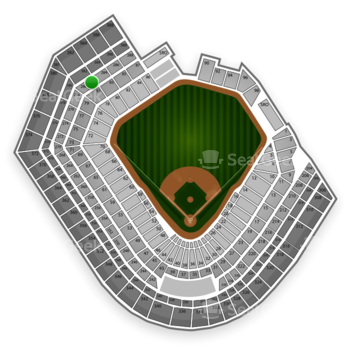 Baltimore Orioles at Oriole Park at Camden Yards Section 282 View