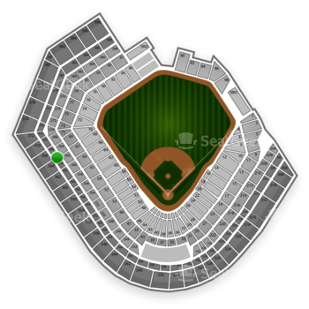 Baltimore Orioles at Oriole Park at Camden Yards Section 366 View