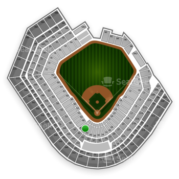 Baltimore Orioles at Oriole Park at Camden Yards Section 44 View