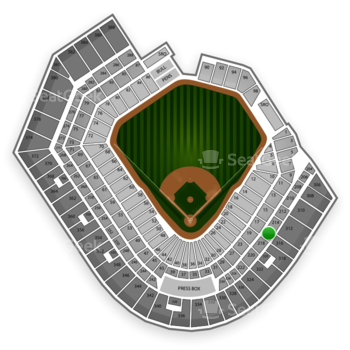 Baltimore Orioles at Oriole Park at Camden Yards Section 216 View