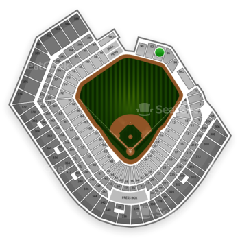 Baltimore Orioles at Oriole Park at Camden Yards Section 94 View