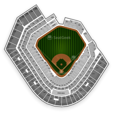 Oriole Park at Camden Yards seating chart Baltimore Orioles