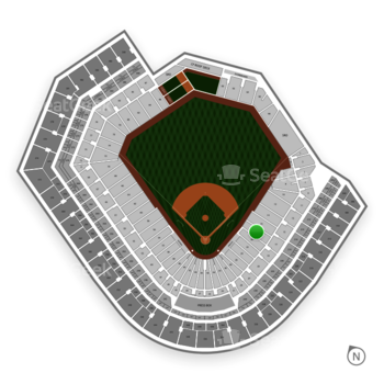 Baltimore Orioles at Oriole Park at Camden Yards Section 18 View
