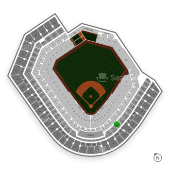 Baltimore Orioles at Oriole Park at Camden Yards Section 226 View