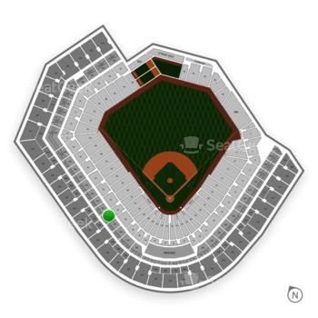 Baltimore Orioles at Oriole Park at Camden Yards Section 250 View