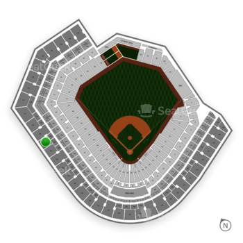 Baltimore Orioles at Oriole Park at Camden Yards Section 364 View