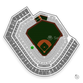 Baltimore Orioles at Oriole Park at Camden Yards Section 58 View