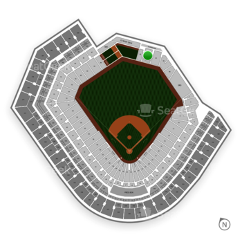Baltimore Orioles at Oriole Park at Camden Yards Section 92 View