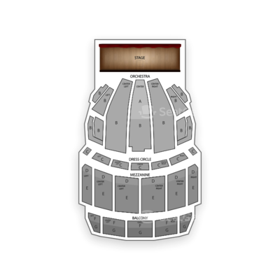 Boston Opera House seating chart Newsies