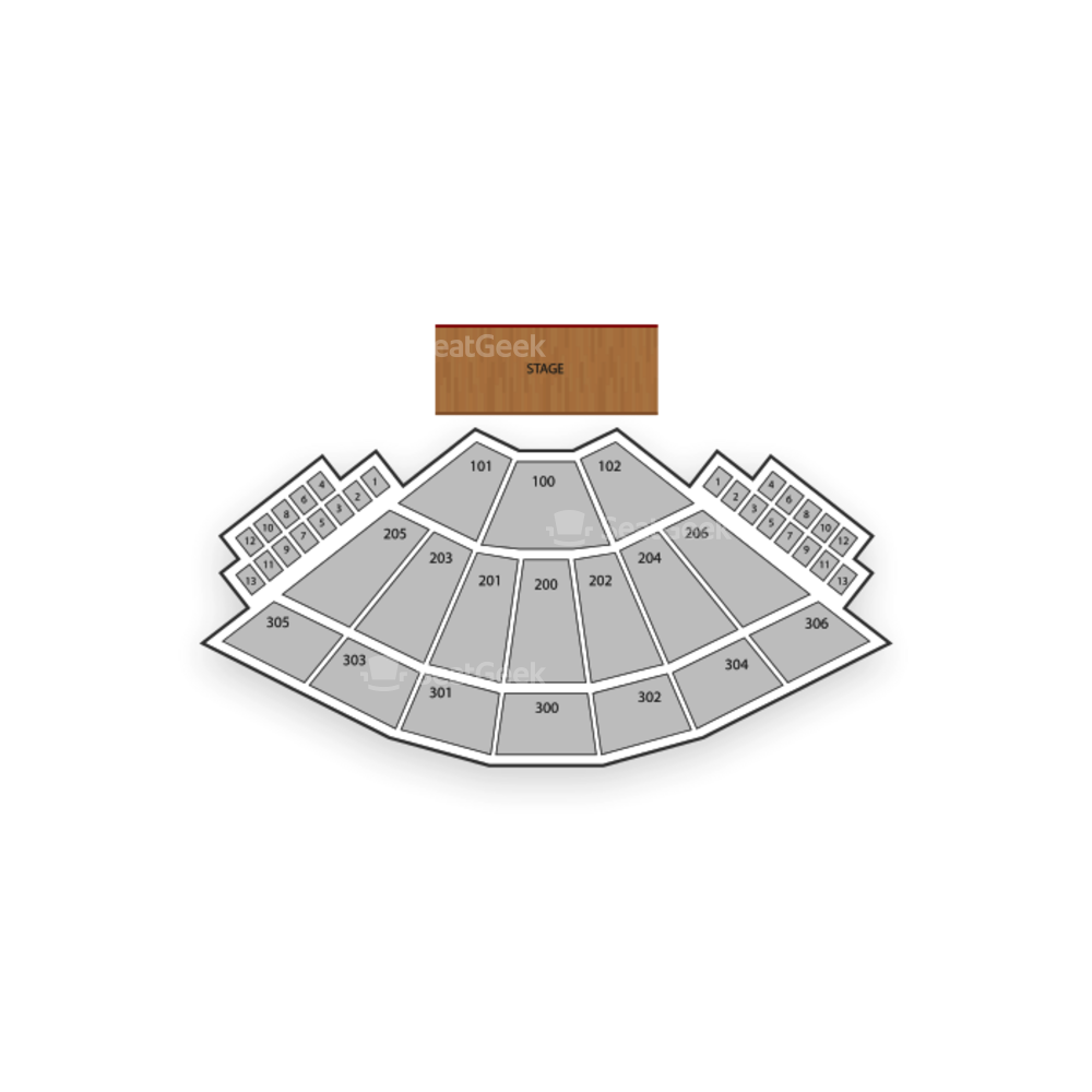 The Hulu Theater at Madison Square Garden Seating Chart Concert