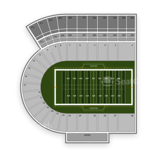 Maryland Terrapins Football Seating Chart