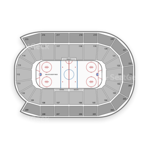 Toledo Walleye Seating Chart