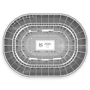 Moda Center at the Rose Quarter Seating Chart Theater