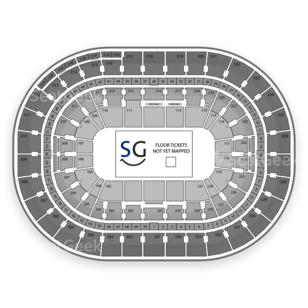 Moda Center at the Rose Quarter Seating Chart Football