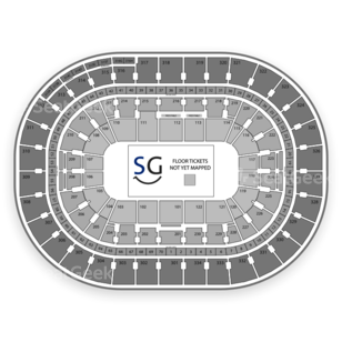 Moda Center at the Rose Quarter Seating Chart Basketball