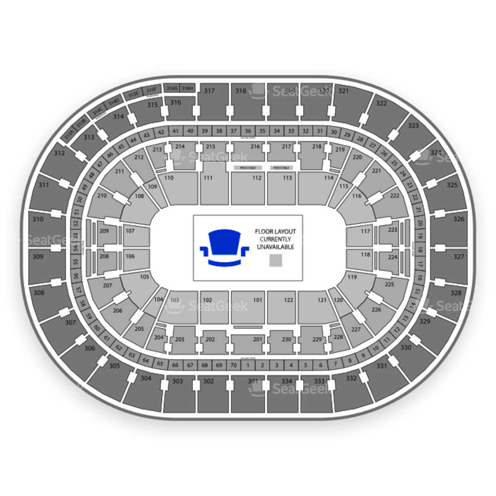 Moda Center Seating Chart Parking