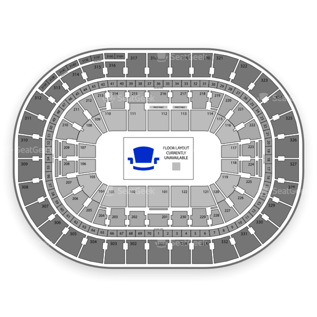 Portland trail blazers seating chart interactive map seatgeek