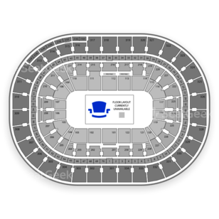 Moda Center Seating Chart NCAA Football