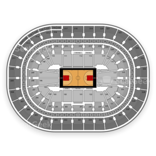 Moda Center Seating Chart NCAA Basketball