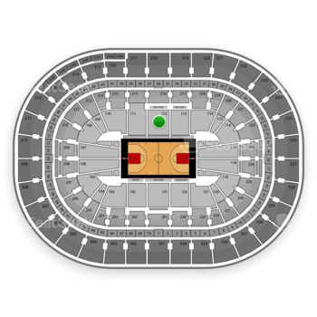 Portland Trail Blazers at Moda Center Section 112 View