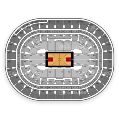 Moda Center at the Rose Quarter seating chart Portland Trail Blazers