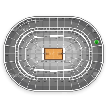 Portland Trail Blazers at Moda Center at the Rose Quarter Section 325 View