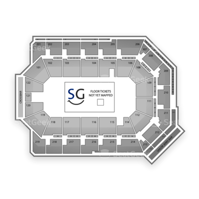 Citizens Business Bank Arena seating chart Marvel Universe Live