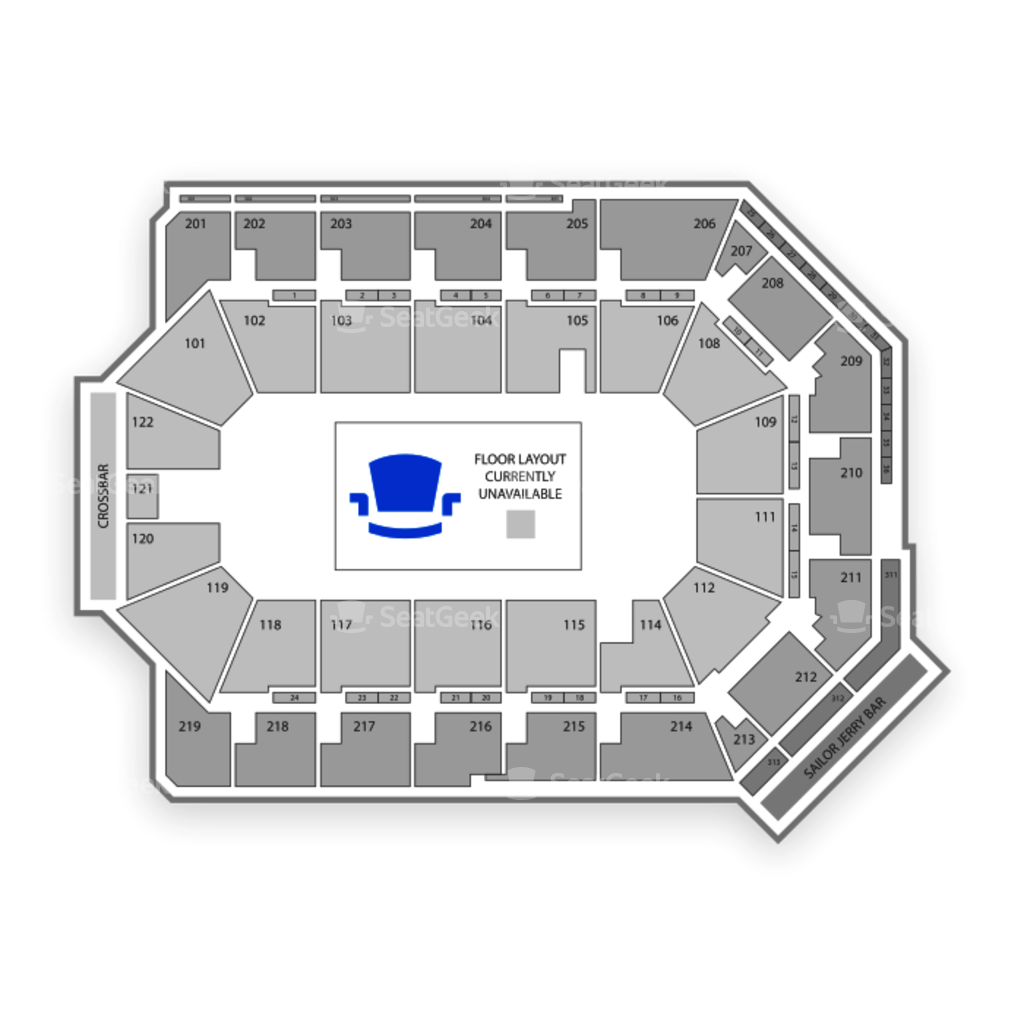 Map Us Bank Arena - Map of all us bank locations