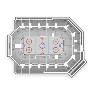 Citizens Business Bank Arena Seating Chart Minor League Hockey