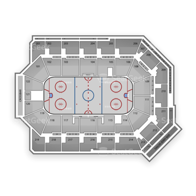 Citizens Business Bank Arena seating chart Ontario Reign