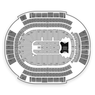 Gila River Arena Seating Chart Concert