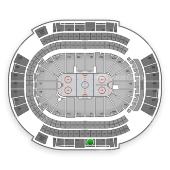 NHL at Gila River Arena Section 215 View