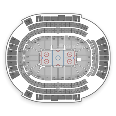 Gila River Arena seating chart Arizona Coyotes