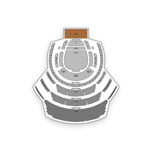 Winspear Opera House Seating Chart Classical Orchestral Instrumental