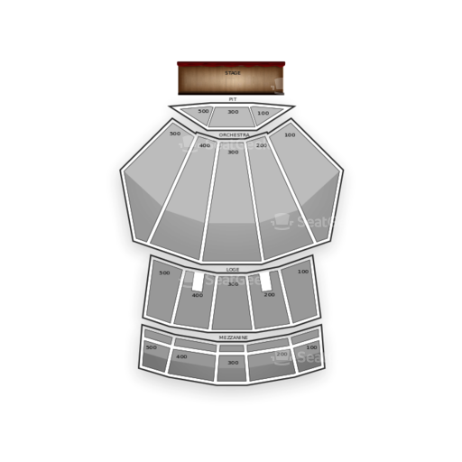 Nokia Theatre LA Live Seating Chart