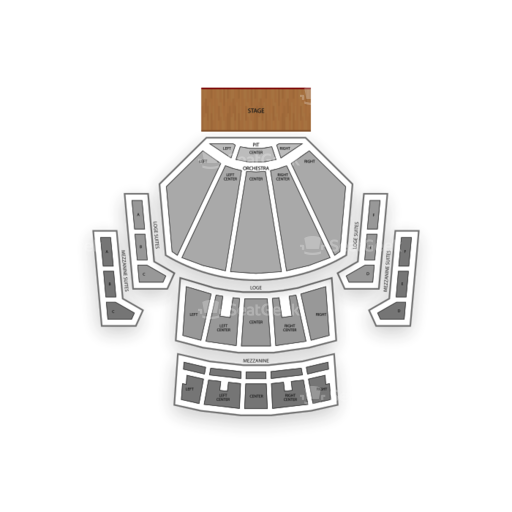 Microsoft Theater Seating Chart Map Seatgeek