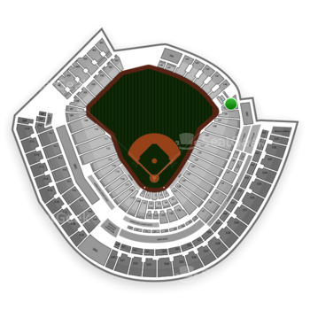 MLB at Great American Ball Park Section 139 View