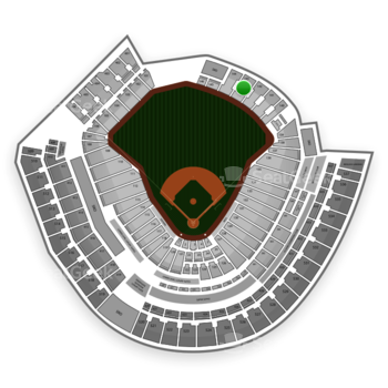 MLB at Great American Ball Park Section 143 View