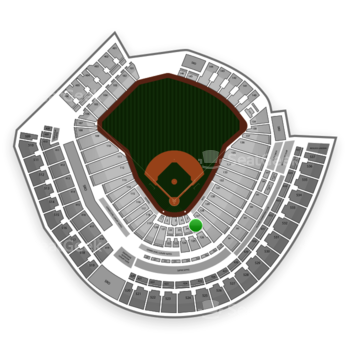 MLB at Great American Ball Park Section 25 View