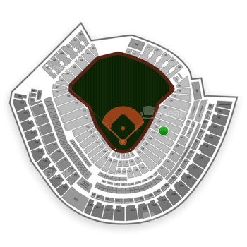 Cincinnati Reds at Great American Ball Park Section 132 View