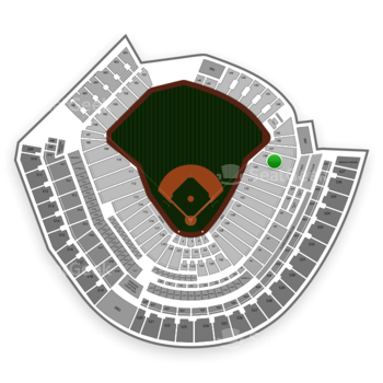 Cincinnati Reds at Great American Ball Park Section 136 View