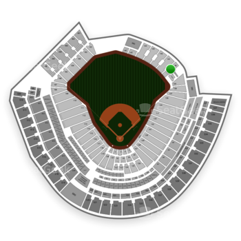 Cincinnati Reds at Great American Ball Park Section 140 View