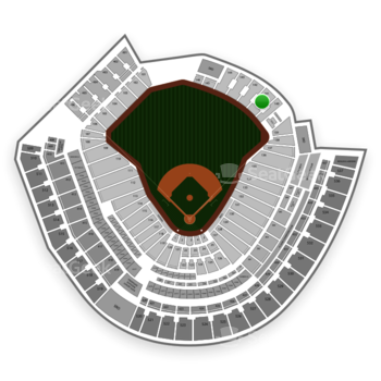 Cincinnati Reds at Great American Ball Park Section 141 View