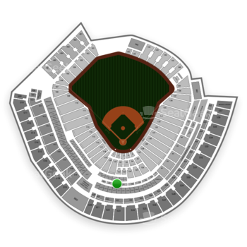 Cincinnati Reds at Great American Ball Park Section 222 View
