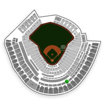 Cincinnati Reds at Great American Ball Park Section 427 View