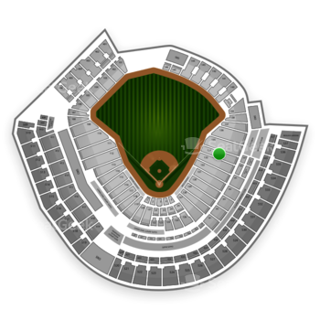 Cincinnati Reds at Great American Ball Park Section 134 View